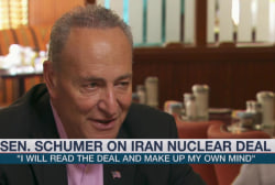 Schumer: I'll make up my own mind on nuke...