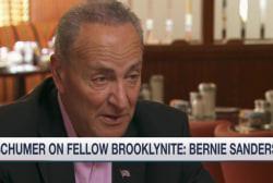 Schumer on fellow Brooklynite Bernie Sanders