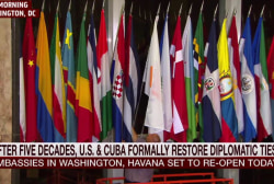 US and Cuba formally restore ties today