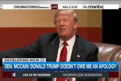 John McCain vs. Donald Trump
