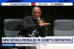 New details revealed in Cosby's deposition