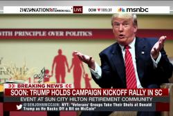 Iowa newspaper calls on Trump to end campaign