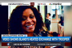 Dashcam video shows Sandra Bland's arrest