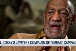 Cosby's lawyers complain of 'smear' campaign