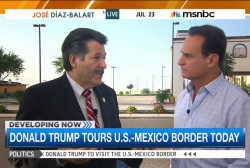 Laredo mayor: 'We welcome Donald Trump'