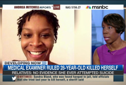 Questions surround Sandra Bland death