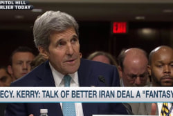 John Kerry challenges Iran deal critics