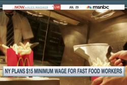 NY: $15 minimum wage for fast food workers