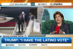 Trump remains confident in Latino vote
