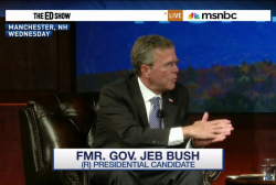 'Phase out' Medicare, says Jeb Bush