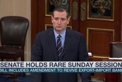 Rare Senate session follows Cruz accusation