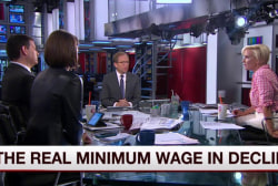 Mika: What is a job if it pays $7.25 an hour?