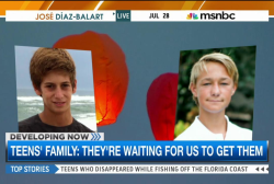 Family of missing Florida teens cling to hope