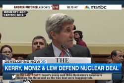 House hearing on Iran nuclear deal continues
