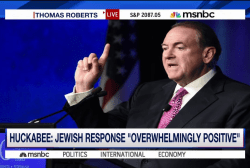 Huckabee compares Iran deal to Holocaust