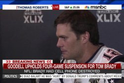NFL upholds Tom Brady's four-game suspension
