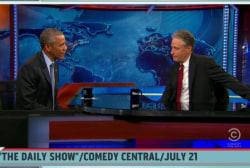 Politico: Jon Stewart secretly visited Pres.