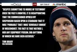 Brady on suspension: 'I did nothing wrong'