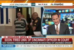 Fired Univ. of Cincinnati cop in court