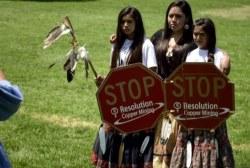 Apaches fight for Oak Flat in Ariz.