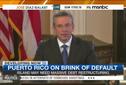 Puerto Rico on brink of default