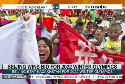 Beijing named Winter Olympics host