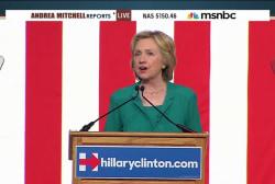Hillary Clinton: Cuban embargo 'needs to go'