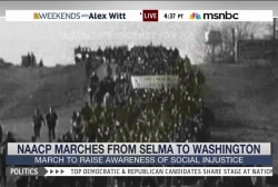 NAACP sponsors march from Selma to D.C.