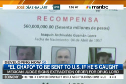 'El Chapo' may be extradited to US if caught