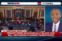 Cuts to Planned Parenthood blocked in Senate