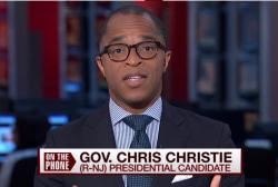Will Christie take on Donald Trump?
