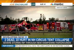 Victims IDed in fatal circus tent collapse