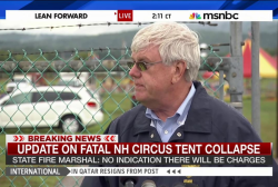 Update on fatal circus tent collapse