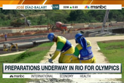 Preparations underway for Rio 2016 Olympics