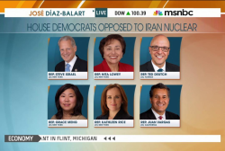 At least six House Democrats oppose Iran deal