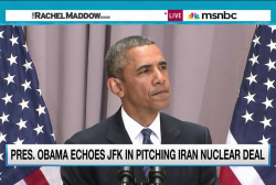 Obama argues for peace in Iran deal push