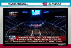 Empty forum makes awkward debate staging