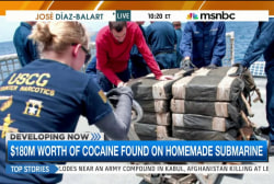 Coast Guard releases video of major drug bust