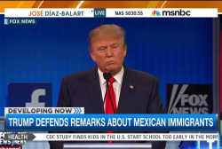 Is Trump setting tone for GOP on immigration?
