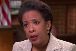 AG Lynch: Ferguson PD still undergoing change