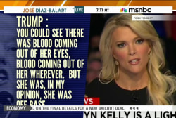 Trump doubles down on Megyn Kelly criticism