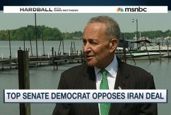 Top Senate Democrat opposes Iran deal