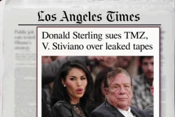 Donald Sterling sues TMZ, former friend