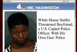 WH staffer charged after domestic dispute