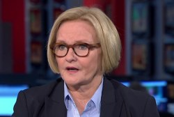 McCaskill: Senate women have a circle of...