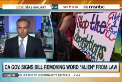 Bill removes 'alien' to describe immigrants