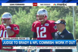 Judge: Brady, Goodell should settle case