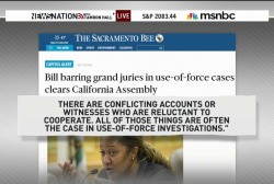 CA bans grand juries in police shooting cases