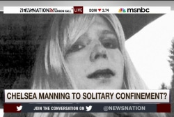 Chelsea Manning facing solitary confinement
