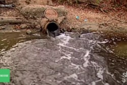Can we get rid of sewage in our waterways?